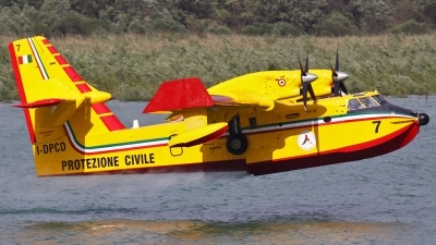 Photo ID 42807 by Claudio Tramontin. Italy Dipartimento Protezione Civile Canadair CL 415, I DPCD