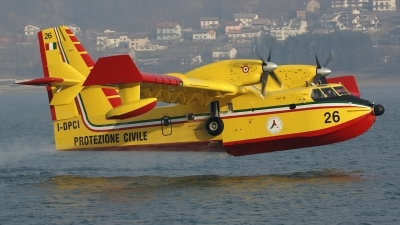Photo ID 42808 by Claudio Tramontin. Italy Dipartimento Protezione Civile Canadair CL 415, I DPCI