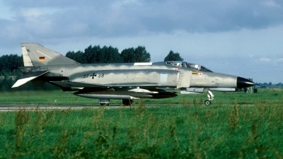 Photo ID 43108 by Joop de Groot. Germany Air Force McDonnell Douglas F 4F Phantom II, 37 39