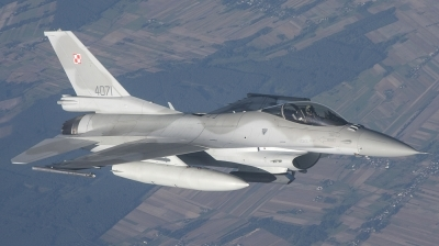Photo ID 43444 by Fred van Horrik. Poland Air Force General Dynamics F 16C Fighting Falcon, 4071