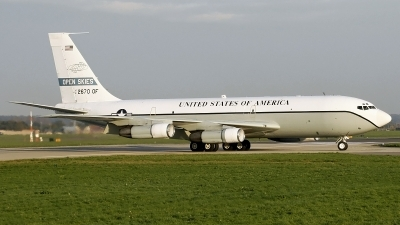 Photo ID 43363 by PAUL CALLAGHAN. USA Air Force Boeing OC 135B 717 158, 61 2670