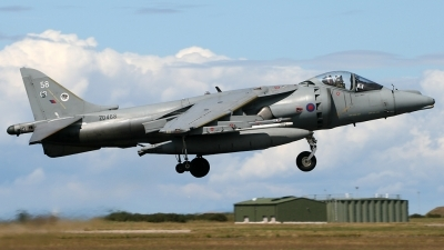 Photo ID 43502 by Andy Walker. UK Air Force British Aerospace Harrier GR9, ZD468