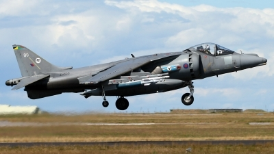 Photo ID 43471 by Andy Walker. UK Air Force British Aerospace Harrier GR7, ZG858