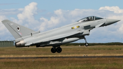 Photo ID 43465 by Andy Walker. UK Air Force Eurofighter EF 2000 Typhoon FGR4, ZJ935