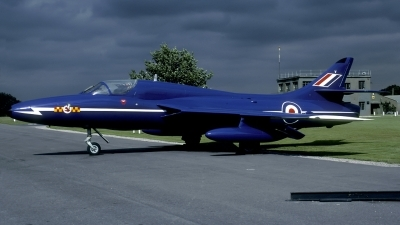 Photo ID 43485 by Joop de Groot. UK Air Force Hawker Hunter T7, XL571
