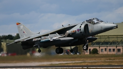 Photo ID 43487 by Andy Walker. UK Air Force British Aerospace Harrier GR9, ZD321