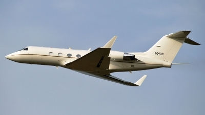 Photo ID 43703 by PAUL CALLAGHAN. USA Air Force Gulfstream Aerospace C 20B Gulfstream III, 86 0403