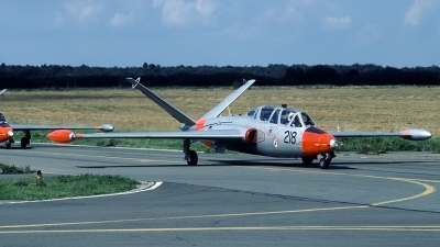 Photo ID 43871 by Joop de Groot. Ireland Air Force Fouga CM 170 Magister, 218