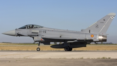 Photo ID 43991 by Chris Lofting. Spain Air Force Eurofighter C 16 Typhoon EF 2000S, C 16 35