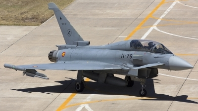 Photo ID 43993 by Chris Lofting. Spain Air Force Eurofighter CE 16 Typhoon EF 2000T, CE 16 07