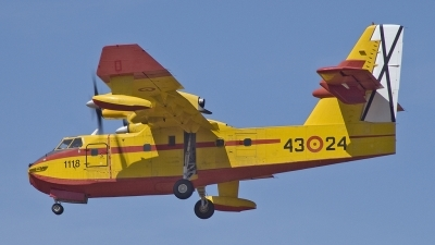 Photo ID 44457 by Alfonso S.. Spain Air Force Canadair CL 215 T, UD 13 24