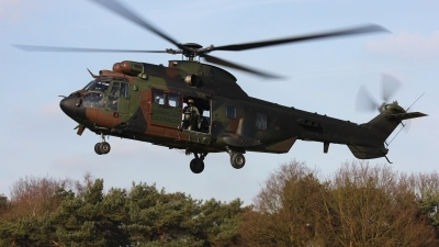 Photo ID 44901 by Jimmy van Drunen. Netherlands Air Force Aerospatiale AS 532U2 Cougar MkII, S 459