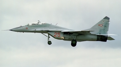 Photo ID 45120 by Arie van Groen. Hungary Air Force Mikoyan Gurevich MiG 29UB 9 51, 25