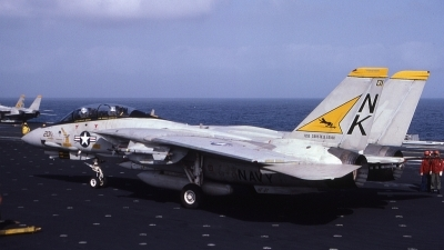 Photo ID 45296 by Rick Morgan. USA Navy Grumman F 14A Tomcat, 161606