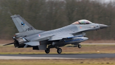 Photo ID 45760 by Mario Boeren. Netherlands Air Force General Dynamics F 16AM Fighting Falcon, J 866