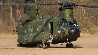 Photo ID 46036 by Alex van Noye. Netherlands Air Force Boeing Vertol CH 47D Chinook, D 664