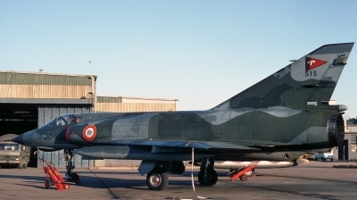 Photo ID 46138 by Alex Staruszkiewicz. France Air Force Dassault Mirage IIIE, 515