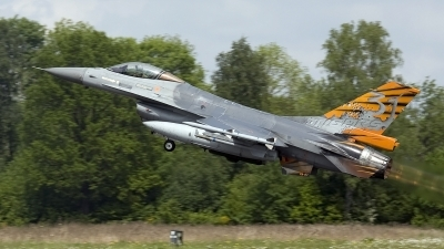 Photo ID 46497 by Arthur Bijster. Belgium Air Force General Dynamics F 16AM Fighting Falcon, FA 87