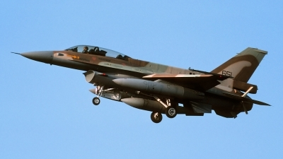 Photo ID 46731 by Henk Schuitemaker. Israel Air Force General Dynamics F 16D Fighting Falcon, 651