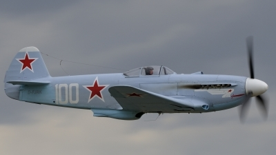 Photo ID 47121 by rinze de vries. Private Private Yakovlev Yak 3UA, D FJAK