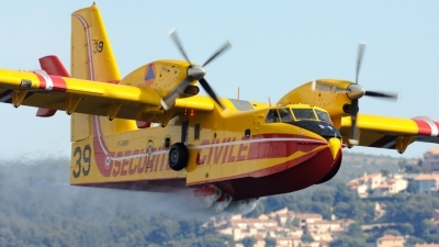 Photo ID 47249 by FEUILLIN Alexis. France Securite Civile Canadair CL 415, F ZBEG