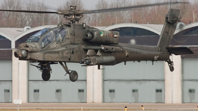 Photo ID 47267 by Alex van Noye. Netherlands Air Force Boeing AH 64D Apache, Q 18
