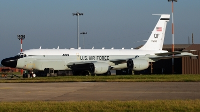 Photo ID 47396 by Benn George. USA Air Force Boeing RC 135S 717 148, 61 2663