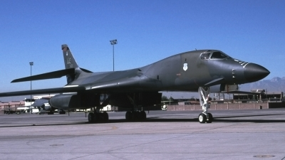 Photo ID 47414 by Tom Gibbons. USA Air Force Rockwell B 1B Lancer, 86 0134