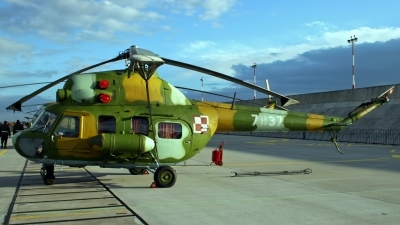 Photo ID 47623 by D. A. Geerts. Poland Air Force Mil Mi 2Ch, 7837