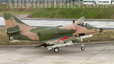 Photo ID 5936 by Chris Lofting. Singapore Air Force Douglas A 4SU Skyhawk, 957