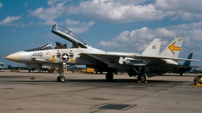 Photo ID 47944 by David F. Brown. USA Navy Grumman F 14A Tomcat, 162696