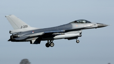 Photo ID 48103 by Joop de Groot. Netherlands Air Force General Dynamics F 16AM Fighting Falcon, J 201