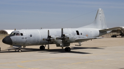 Photo ID 48236 by Chris Lofting. Spain Air Force Lockheed P 3A Orion, P 3 01