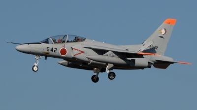 Photo ID 48276 by Henk Schuitemaker. Japan Air Force Kawasaki T 4, 06 5642