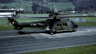 Photo ID 48580 by Joop de Groot. Switzerland Air Force Aerospatiale TH89 Super Puma AS 332M1, T 318