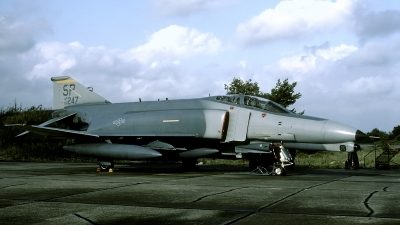 Photo ID 48675 by Joop de Groot. USA Air Force McDonnell Douglas F 4G Phantom II, 69 0247