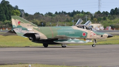 Photo ID 48723 by Peter Terlouw. Japan Air Force McDonnell Douglas RF 4E Phantom II, 57 6907