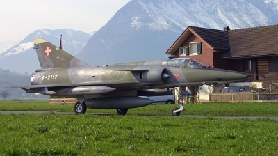 Photo ID 48954 by Andreas Zeitler - Flying-Wings. Switzerland Air Force Dassault Mirage IIIRS, R 2117