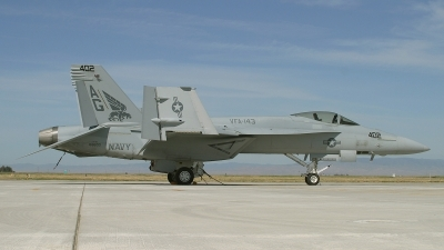 Photo ID 49011 by David F. Brown. USA Navy Boeing F A 18E Super Hornet, 166600
