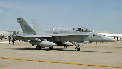 Photo ID 49013 by David F. Brown. USA Navy McDonnell Douglas F A 18C Hornet, 163455