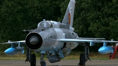 Photo ID 49329 by Johnny Cuppens. Romania Air Force Mikoyan Gurevich MiG 21MF 75 Lancer C, 5724