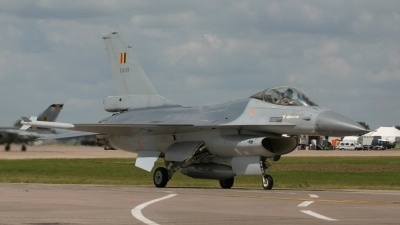Photo ID 49405 by Barry Swann. Belgium Air Force General Dynamics F 16AM Fighting Falcon, FA 119