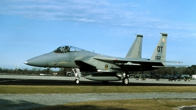 Photo ID 49690 by David F. Brown. USA Air Force McDonnell Douglas F 15C Eagle, 84 0012