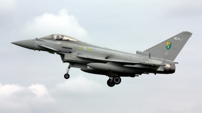 Photo ID 49812 by Stephen J Muscat. UK Air Force Eurofighter EF 2000 Typhoon FGR4, ZJ921