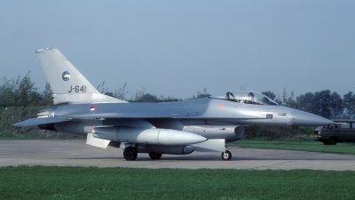 Photo ID 49975 by Rainer Mueller. Netherlands Air Force General Dynamics F 16A Fighting Falcon, J 641