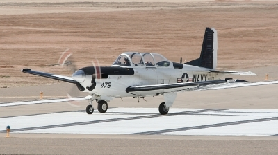 Photo ID 50536 by Paul Newbold. USA Navy Beech T 34C Turbo Mentor 45, 160475