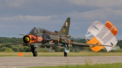 Photo ID 50379 by Mariusz Suwalski. Poland Air Force Sukhoi Su 22M4 Fitter K, 8308