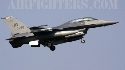 Photo ID 6251 by Roberto Bianchi. USA Air Force General Dynamics F 16D Fighting Falcon, 90 0796