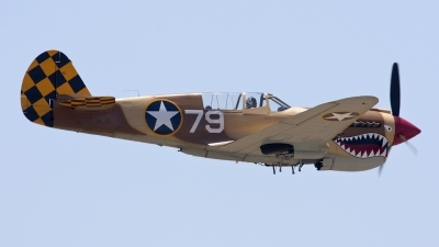 Photo ID 50417 by Nathan Havercroft. Private Planes of Fame Air Museum Curtiss P 40N Warhawk, N85104