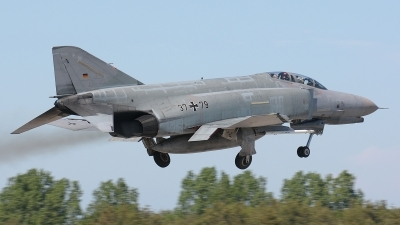 Photo ID 50454 by Klemens Hoevel. Germany Air Force McDonnell Douglas F 4F Phantom II, 37 79